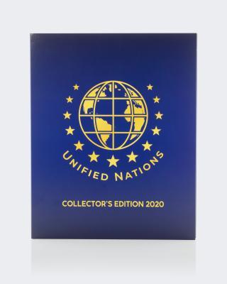 Goldmünze UN Collector's Ed. Herz & Hand mit Album