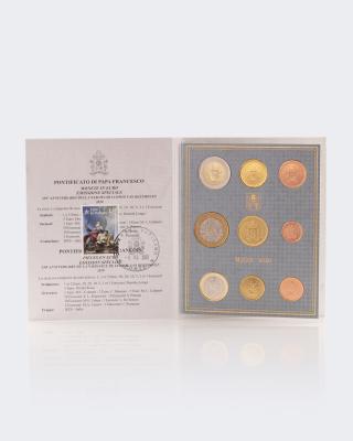 Vatikan Kursmünzen Ersttagsed. 2020