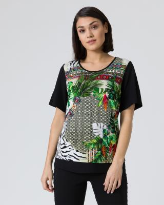 Shirt mit Exklusiv-Druck
