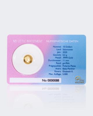 Goldmünze Gold Coin Card Panther 2020