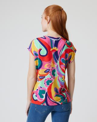 Shirt mit Fantasie-Druck