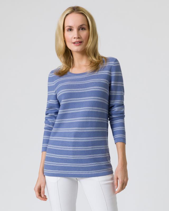 Pullover Supima Cotton mit Streifen