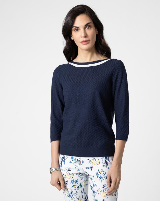 Pullover maritim Supima Cotton