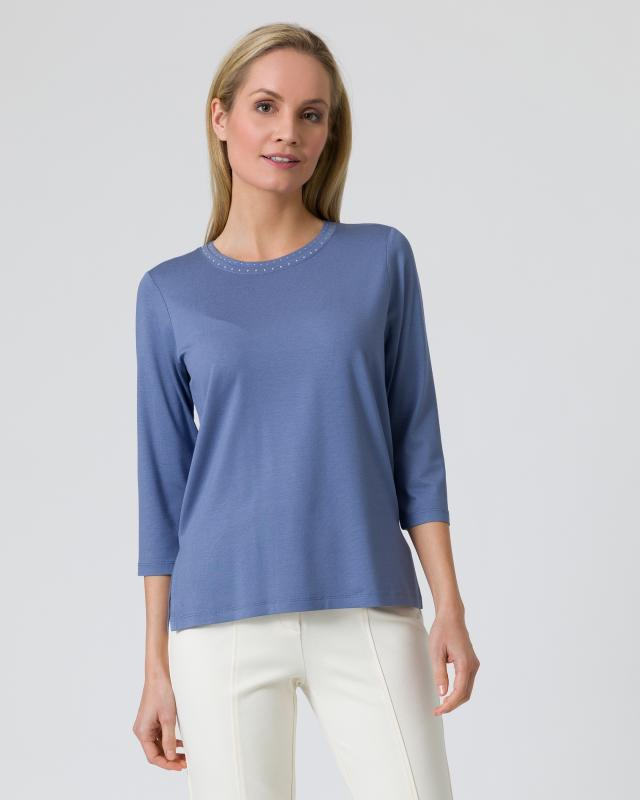 Shirt Metallplättchen-Deko