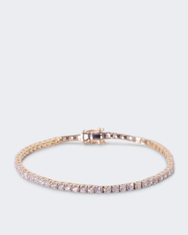 Brillant-Armband, 5,00 ct