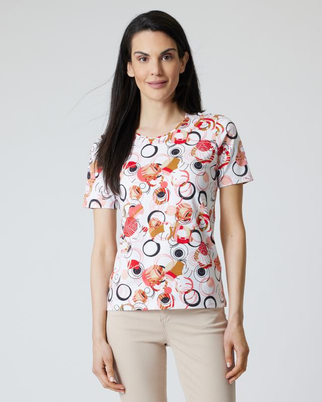 Shirt mit Kringel-Print