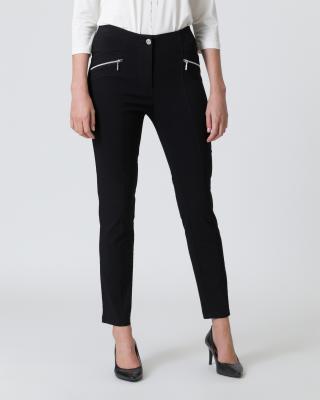 Hose mit Reißverschluss-Taschen