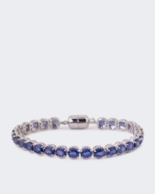 Armband mit Saphir
