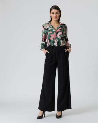Bluse mit Blumendruck