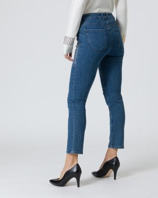 Jeans mit Verzierung