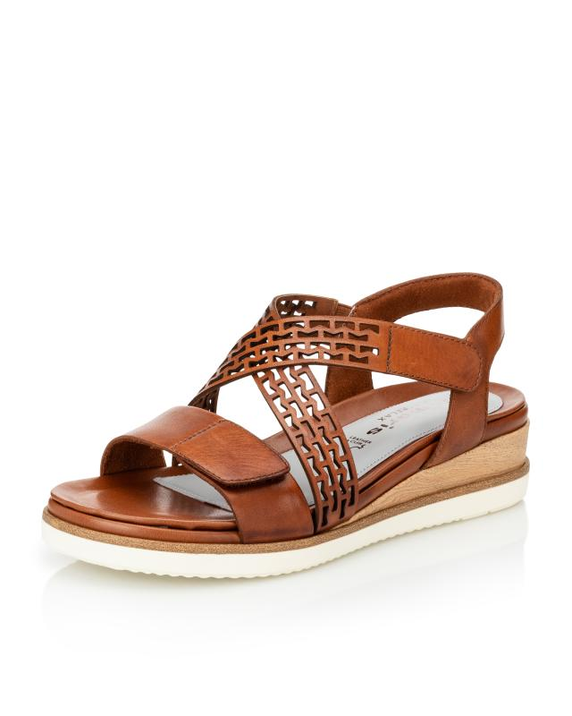 Sandale mit Lochmuster