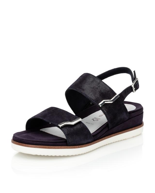 Sandale mit Metall-Deko
