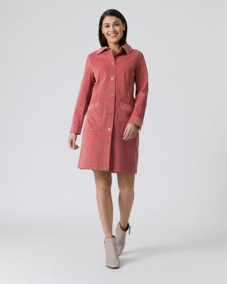 Mantel aus feinem Cord