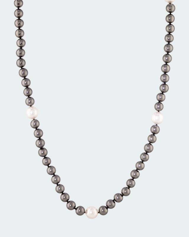 Collier MK-Perle 9+12mm