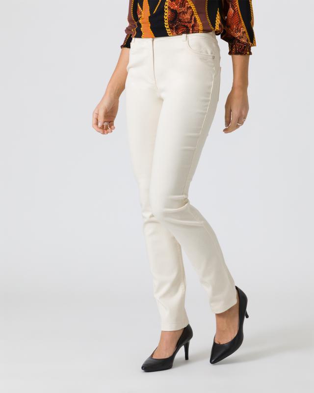 Hose mit leichtem Glanz