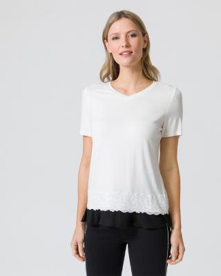 Shirt mit Saumverzierung