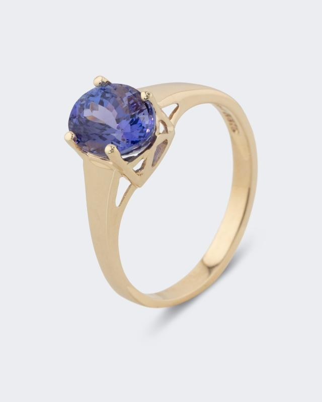 Harry Ivens Ring mit Tansanit AA+