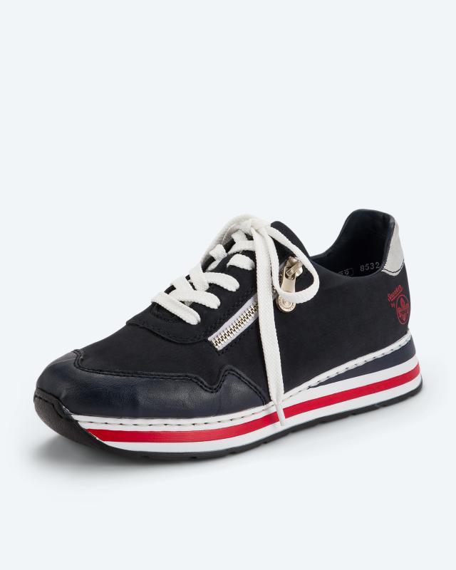Sneaker mit Deko-Reißverschluss