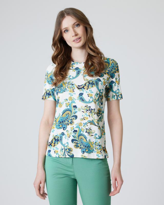 Shirt mit Paisley-Alloverdruck