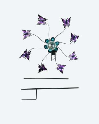 Solar Windrad Schmetterling