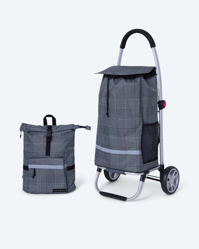 Einkaufstrolley + Rucksack