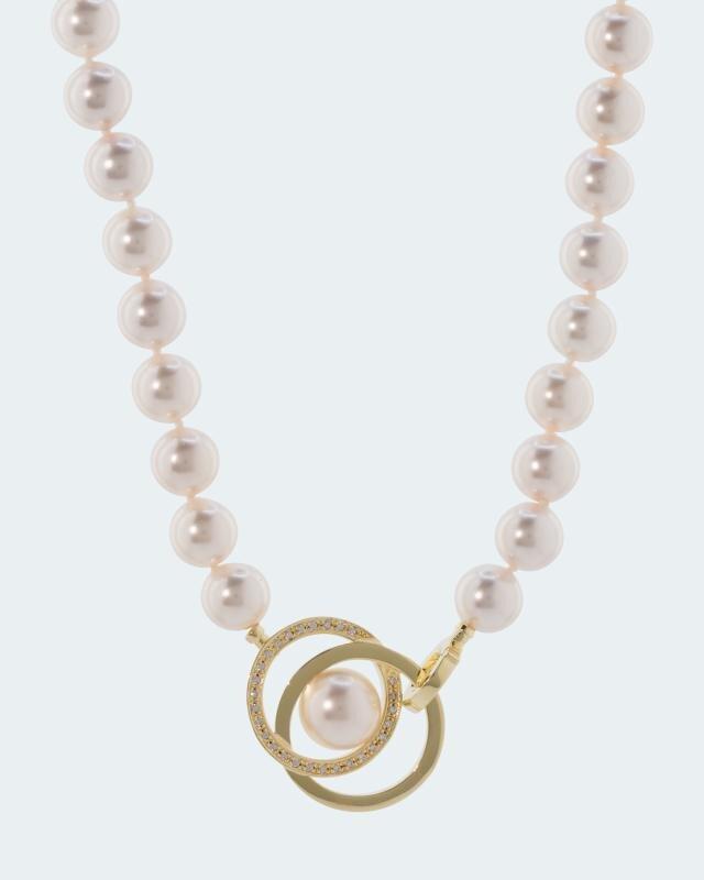 Collier MK-Perlen 10 mm