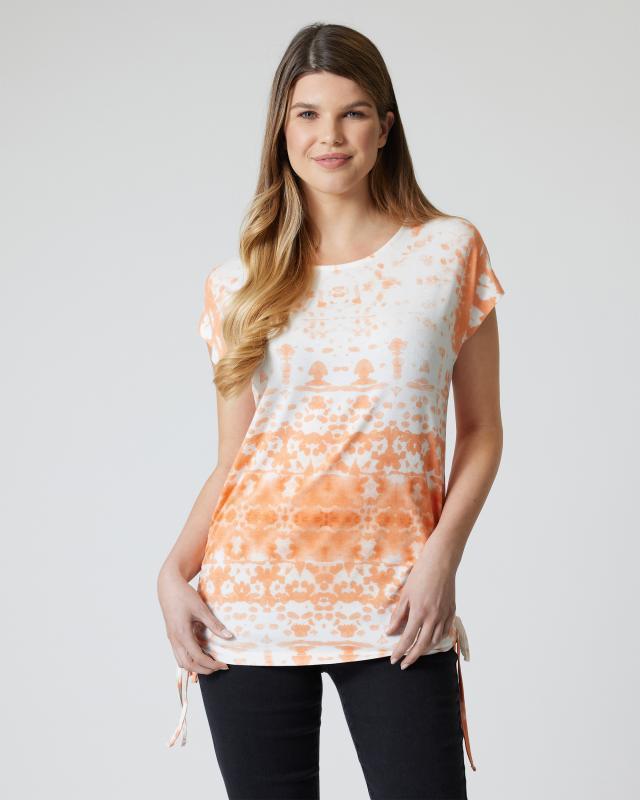 Shirt mit Dip-Dye-Druck