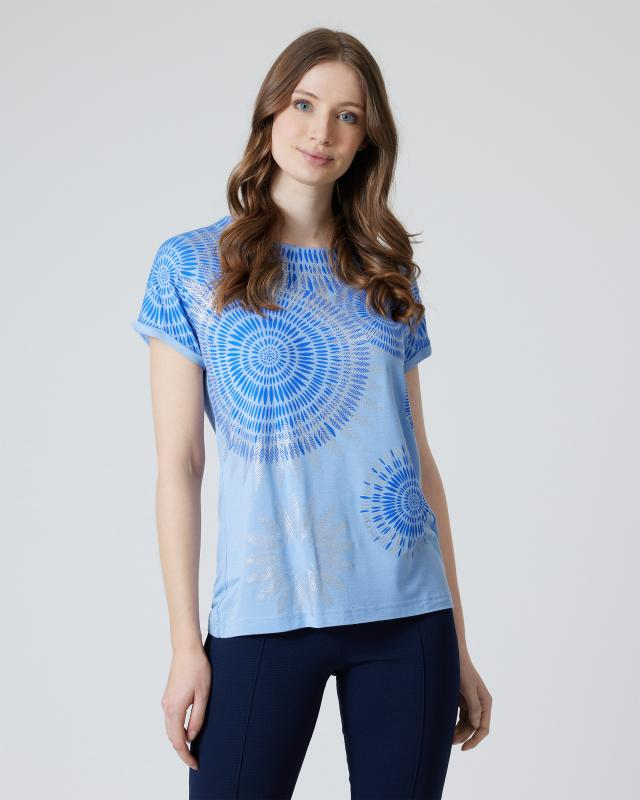 Nala Shirt mit Fantasie-Druckmix