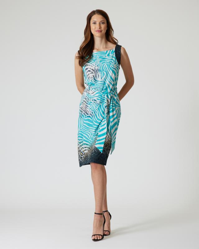 Sommerkleid mit Bindegürtel