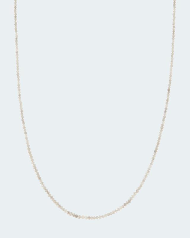 Collier mit Diamanten und 14 Karat