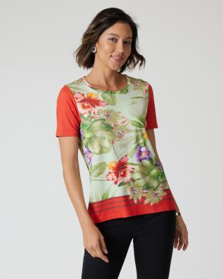 Shirt Flower Symphony