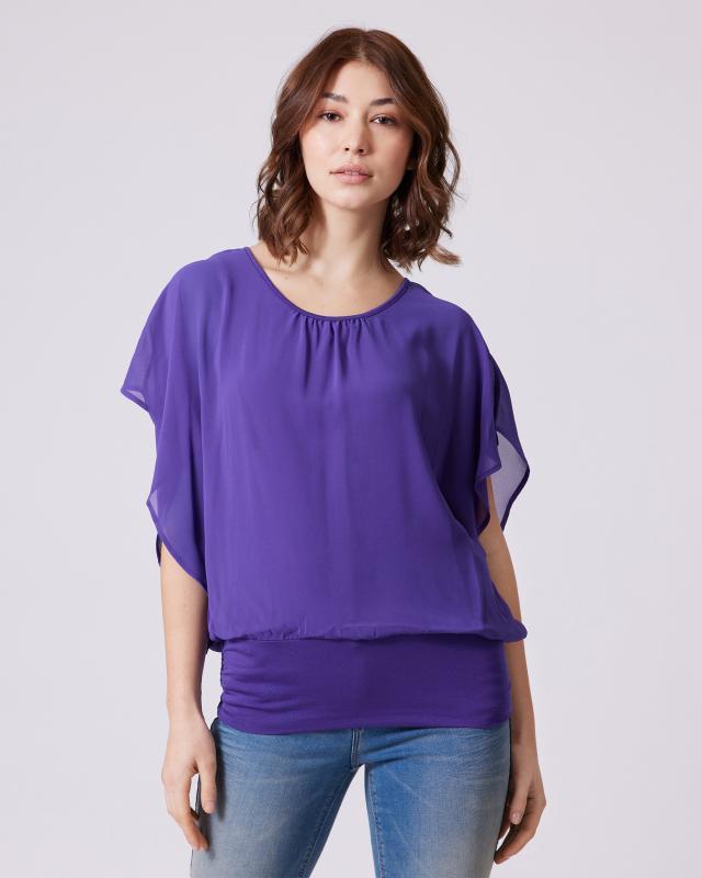 Shirt aus Chiffon