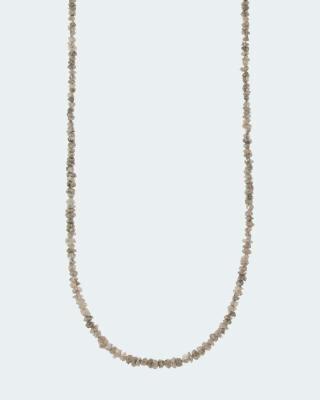 Collier mit Rohdiamant und 18,0 Karat