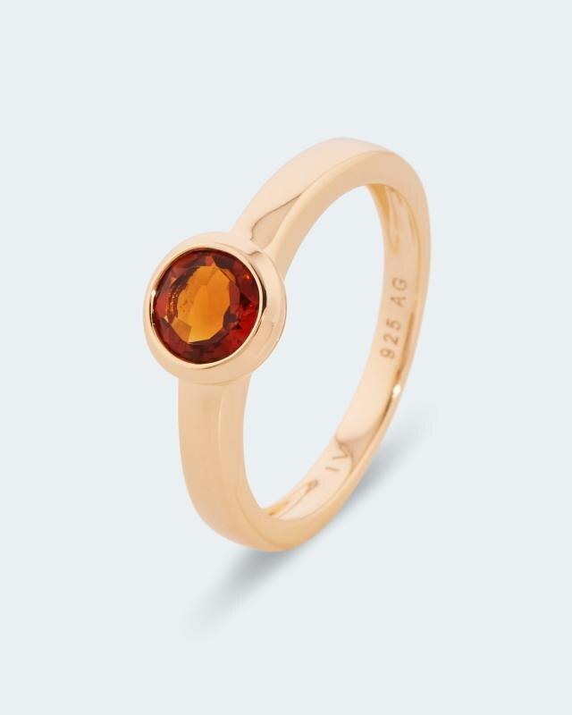 Ring mit Madeira Citrin