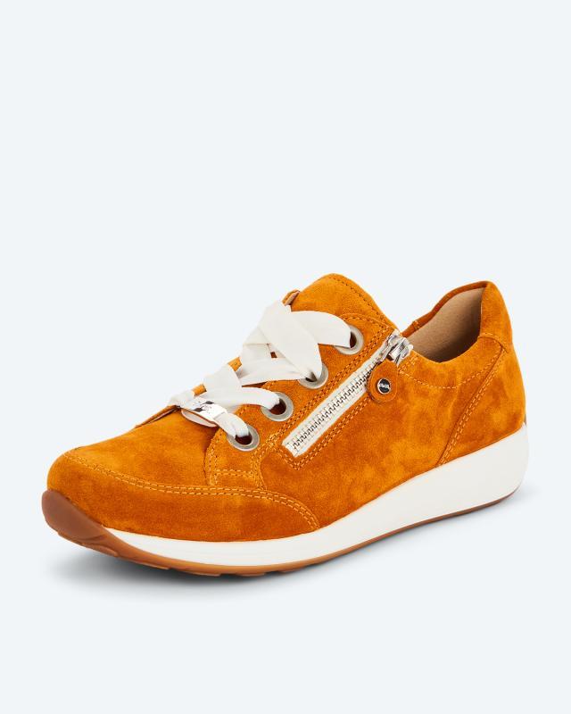 Sneaker mit Schnürung + Reißverschluss