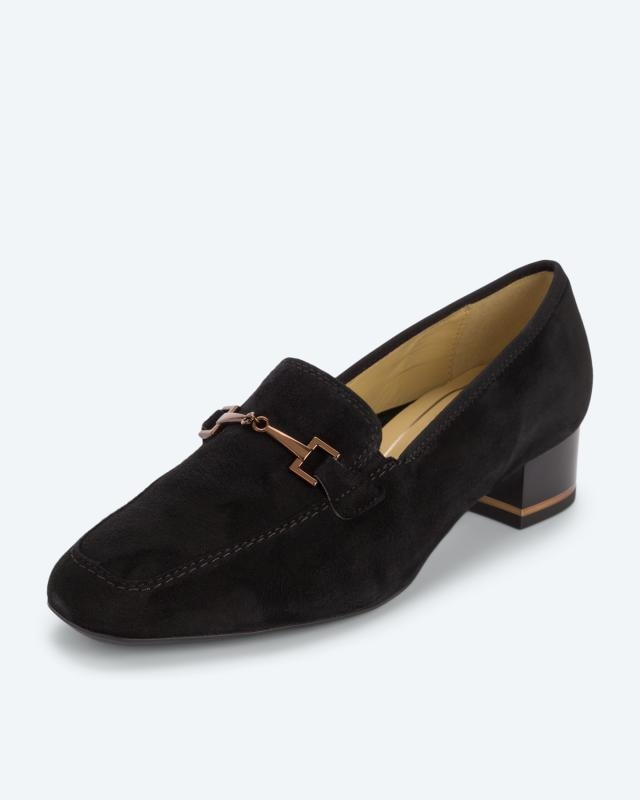 Loafer mit Zierspange