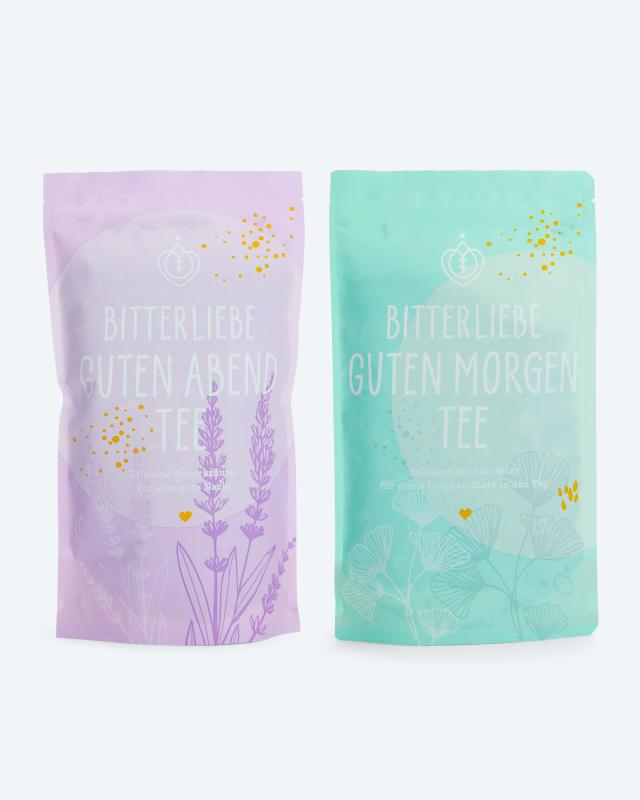BitterLiebe Tee-Set, 2x 100 g