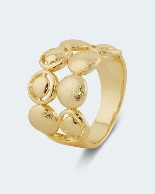 Ring in geometrischem Design