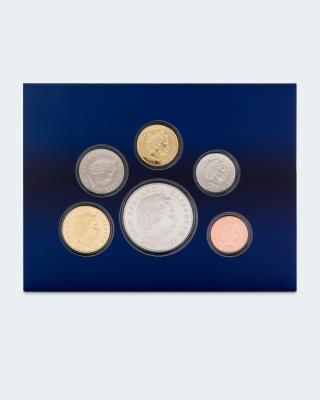New Zealand Kursmünzensatz 2012