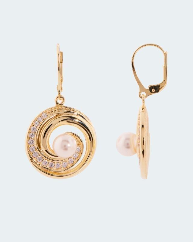 Pfeffinger Ohrhänger MK-Perle 7mm