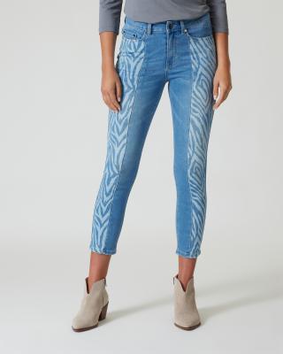 Jeans mit Zebramotiv