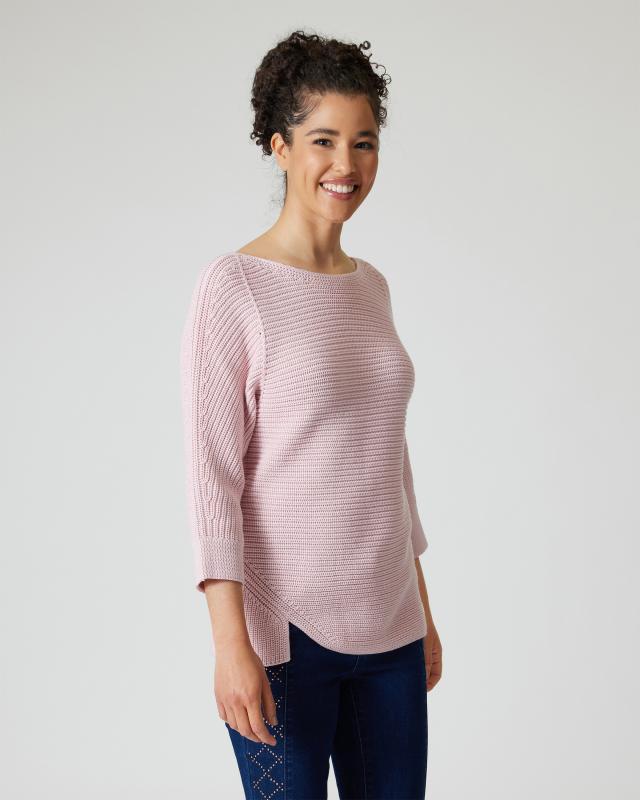 Pullover mit Struktur