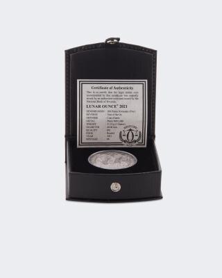 Platin-Münze Jahr des Ochsen 2021