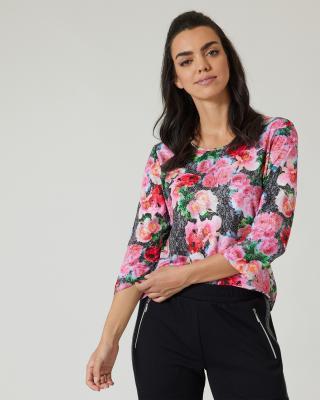 "Shirt ""Lace & Flowers"""