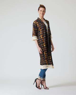 Kimono in Batik-Optik
