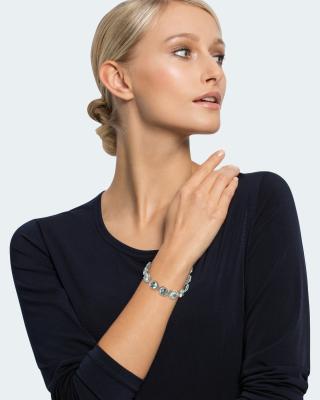 Armband mit Amethyst oder Topas