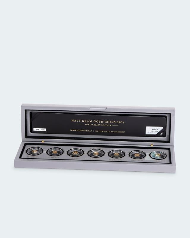 Half Gram Gold Palladium Edition 2021