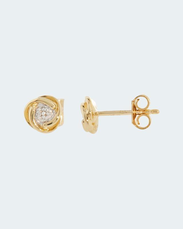 Diamantohrstecker 0,03 ct