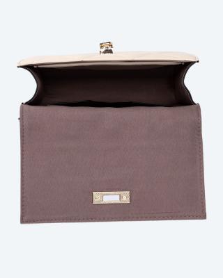 Überschlagtasche in Stepp-Optik