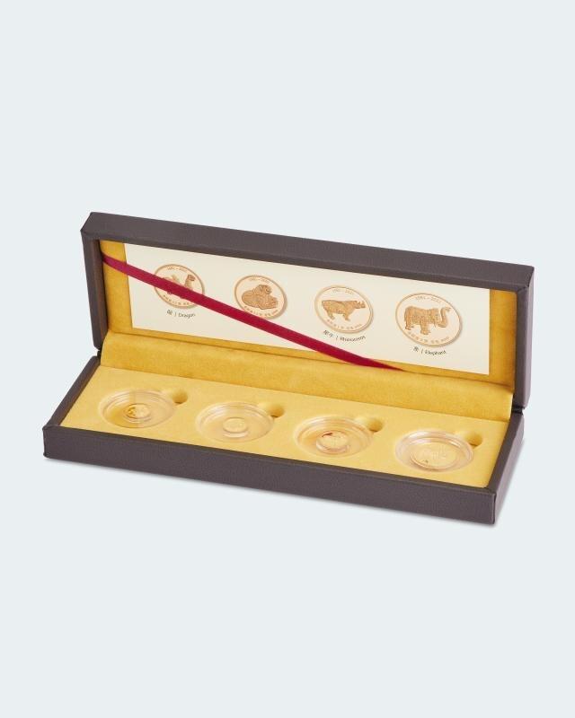 4er Gold-Set 40. Jubiläum CBAF-Serie